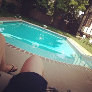 Summer can't be that bad. And yes, I realize that this isn't a particularly attractive leg picture; my apologies.